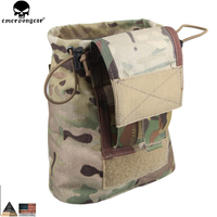 EMERSONGEAR Drop Pouch Dump Pouch Tactical Molle Magazine Pouch Airsoft Paintball Hunting Tool Mag Pouch EM9041