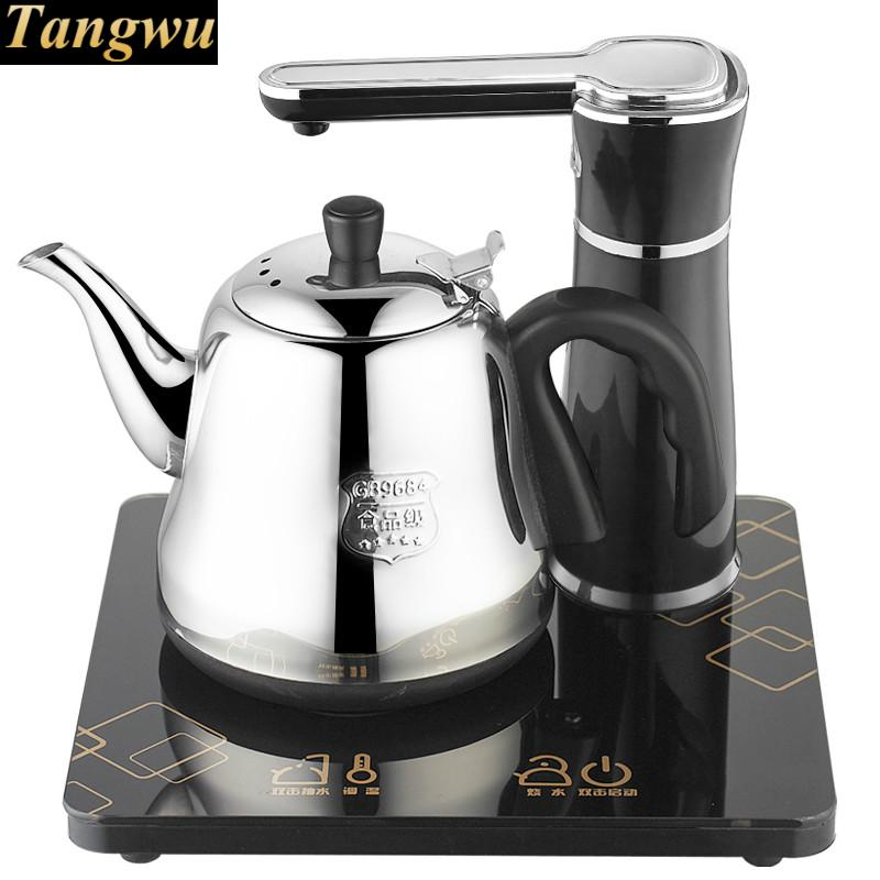 Electric kettle Automatic upper stainless steel bubble pot boiling machine Safety Auto-Off Function цена 2017