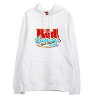 Kpop new arrival red velvet the red summer all member name printing hoodies for fans fleece loose pullover sweatshirt