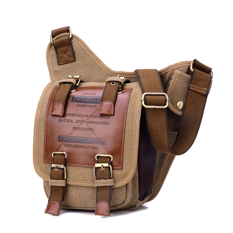 Fabra New Brand Thick Canvas & PU Bag High Quality Vintage Camera Men Messenger Bags Fashion Letter Shoulder Bags England Style sinan apak supply chain execution and management systems