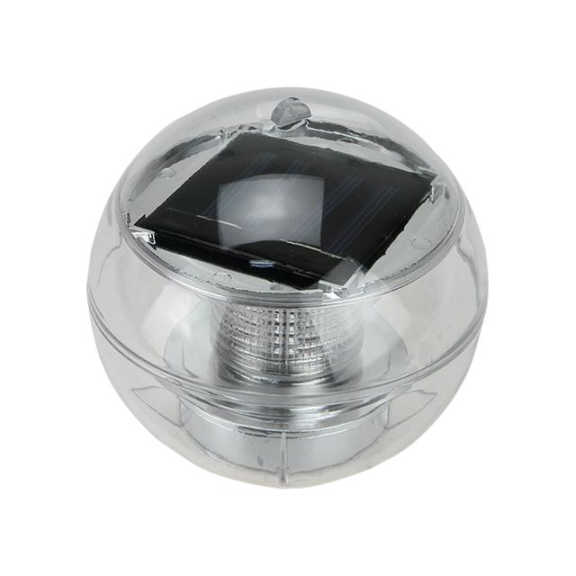 2V 60mA Pool Solar Power RGB Ball LED Floating Light Lamp Outdoor Garden Pond Landscape Color Night Lights xmas lights