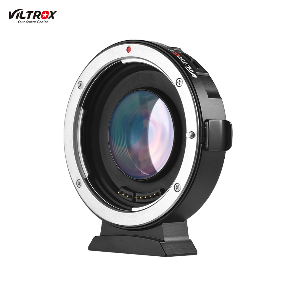 Viltrox EF M2II Lens Mount Adapter Ring Auto Focus 0 71X for Canon EOS EF Lens