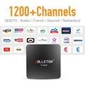 Dalletek IPTV Árabe Francés Tv Box HD Europa Sport News Canal IPTV Suscripción Envío Películas VOD Inalámbrica Inteligente Android TV caja