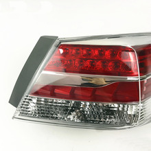 Suitable for 2013 year Honda eight generation Accord taillight assembly rear brake light turn signal free shipping vland factory car accessory from vland 2014 2015 year for honda accord led taillight