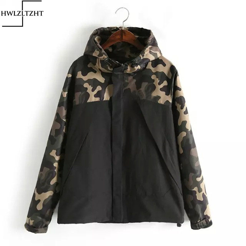2017 High Quality Letter Print Camouflage Basics Jackets Men Women Windbreaker Windproof Coats Outwear aqueta feminina Jacket