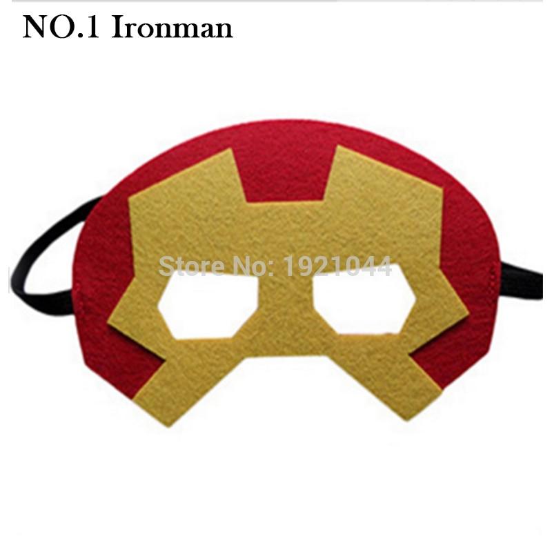 Máscara de fiesta de superhéroes Vengadores Ironman Star Wars - Para fiestas y celebraciones - foto 4