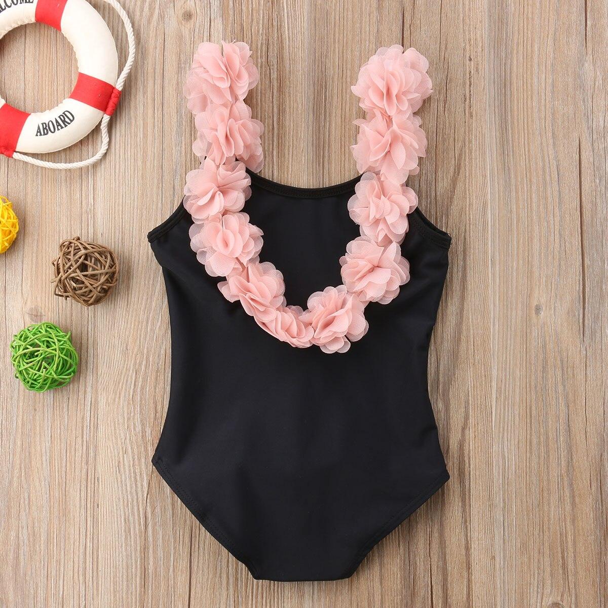 Swimwear Pudcoco 2019 Brand Summer Kids Baby Girl Bikini Suit Bowknot Flamingo Swimwear Beachwear Swimming 1-6y Reliable Performance
