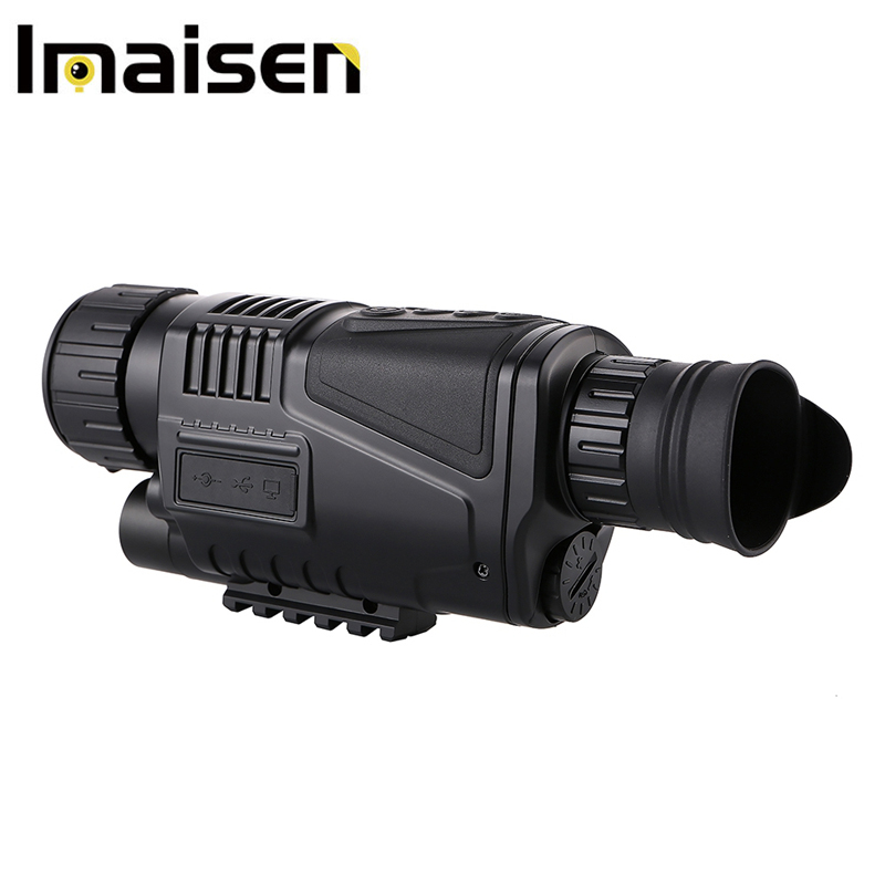 5 x 40 Monocular telescope Infrared Digital Night Vision Telescope High Magnification for Hunting 5 x 40 Monocular telescope Infrared Digital Night Vision Telescope High Magnification for Hunting