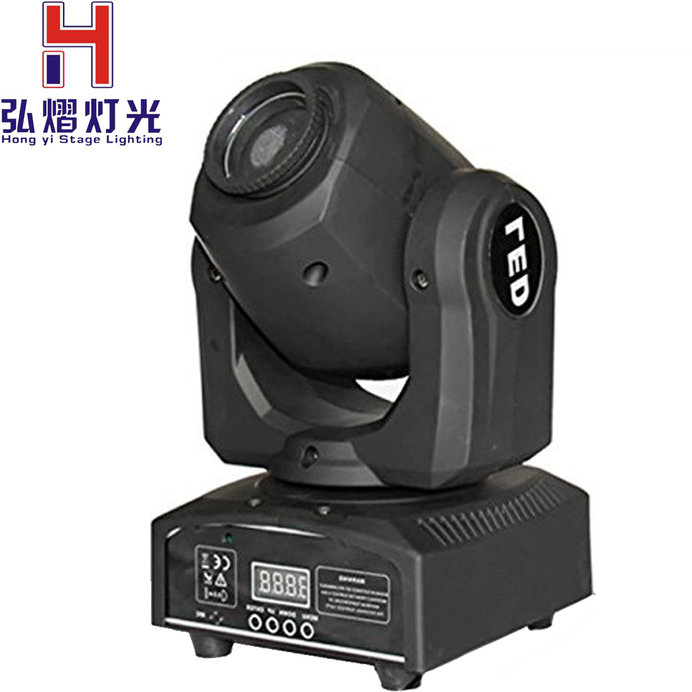 hongyistagelight Led spot Light 30w moving head Led gobos Strobe DMX DJ Disco Professional Stage Lights Sound Party Equipment free shipping 8pcs lot 90w lyre led spot gobos moving head light stage equipment party lumiere lights dj party show dmx lighting