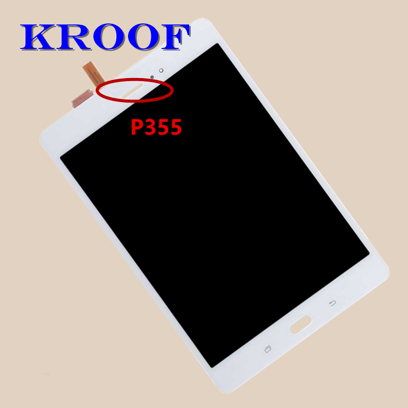 For Samsung Galaxy Tab A SM-P350 P350 SM-P355 P355 LCD Display Matrix + Touch Screen Digitizer Full Assembly