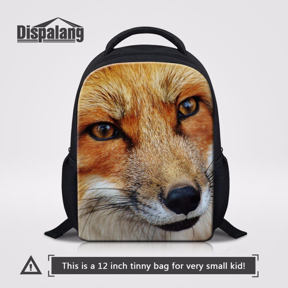 0f673868251d US $17.99 25% OFF|Dispalang Animal Fox Pattern Children Casual Book Bags  School Bags For 1 5 Years Kindergarten Backpack Lightweight Back Pack-in ...