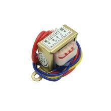 EI28 силовой трансформатор 1 Вт DB-1VA 220 В до 6 в/9 В/12 В/15 В/18 В/24 В/одиночный/двойной входное напряжение 220 В