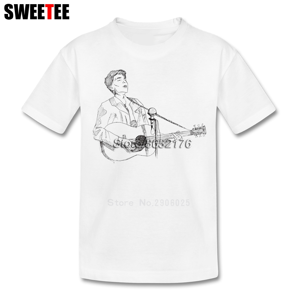 Bob Dylan Boys Girls T Shirt Baby Short Sleeve 100% Cotton Toddler Crew Neck Tshirt Children Tees 2018 Infant T-shirt For Kids