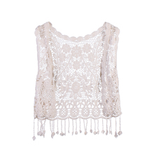 2019 New Hot Sale Toddler Kids Baby Girls Crochet Lace Hollow Cardigan Tops Vest Tassels Waistcoat