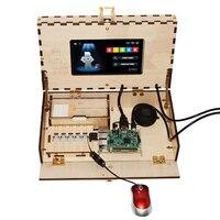 Geeetech компьютерная игра комплект для детей стволовых и кодирования обучение игрушка на основе Raspberry Pi демо доска