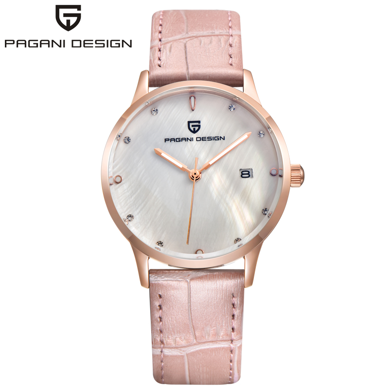 Fashion Quartz Watch Women Waterproof 30M Dress Watches Luxury PAGANI DESIGN Brand Lady Relogio Feminino купить в Москве 2019