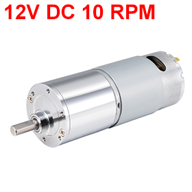 Uxcell Newest 1PCS ZGB37RG DC 12V 10 RPM 1.5W Gear Motor High Torque Reduction Gearbox Eccentric Output 15x6mm D Shaft for M3