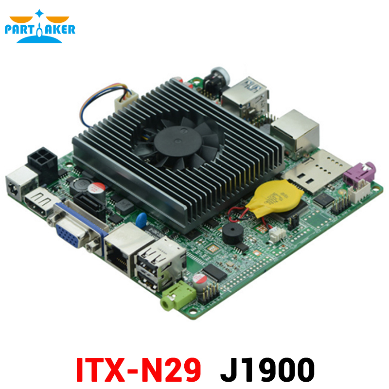 OEM Quad Core J1900 Nano ITX Motherboard with HDMI VGA PS2 RS232 hcipc itx hcms3j19 celeron j1900 quad core nano itx motherboard embedded mainboard