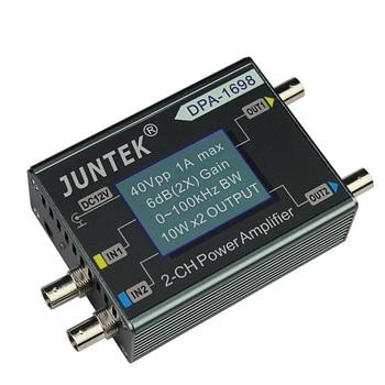 DPA-1698 High Power Dual Channel DDS Function Signal Generator Power Amplifier DC Power Amplifier 40V