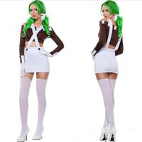 2017 Femmes Se Précipitaient Sexo Catsuit Halloween Carnaval Adulte Costume Oktoberfest Bière Fille Costumes Pour Filles Disfraces Taille 6XL