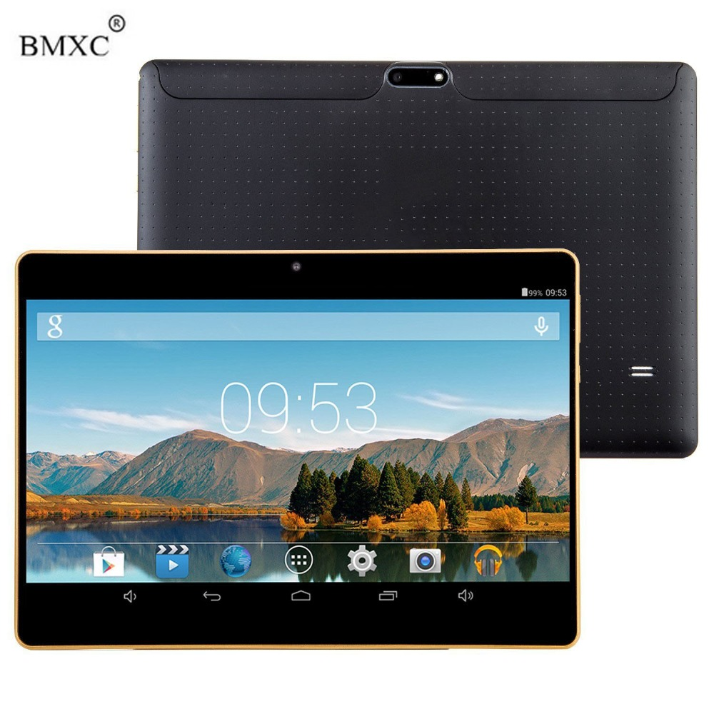 BMXC 10 1 Inch Tablet PCs Octa Core Ram 2GB Rom 16GB Android 6 0 Phone