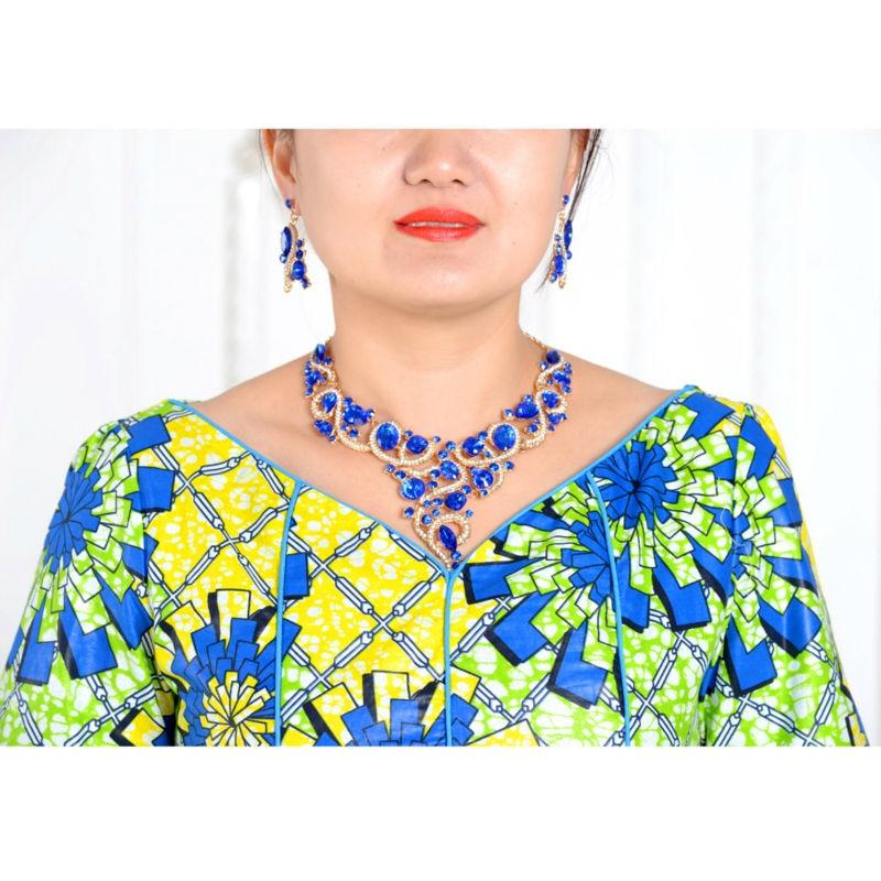 klassisk afrikansk klær for kvinner todelt dress avrikansk - Nasjonale klær - Bilde 4