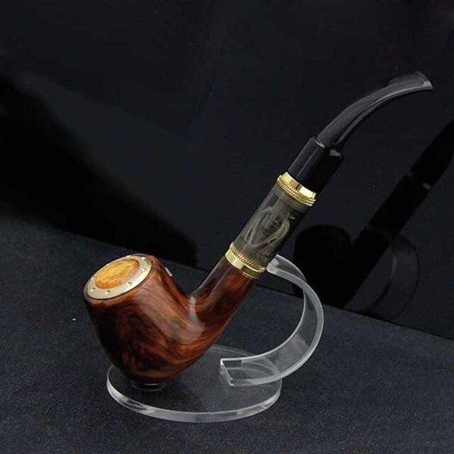 Elektronische Sigaret Tabak Pijp 168 Houten Stijl Kit ingebouwde 18350 Batterij Vaporizer