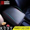 Kust tampa da caixa de apoio de braço de couro para crv 2012 2013 interior acessórios do console apoio de braços central tampa para honda para crv 2015 2016