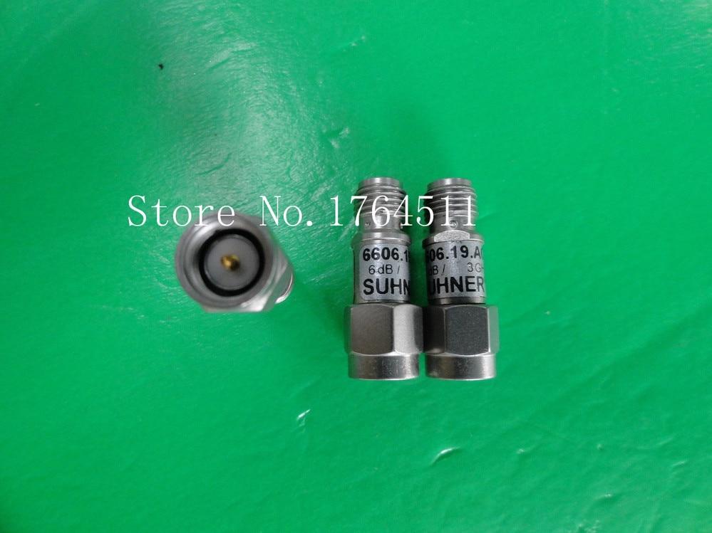 [BELLA] H+S 6606.19.AC DC-3GHz 6dB 2W SMA Coaxial Fixed Attenuator  --5PCS/LOT