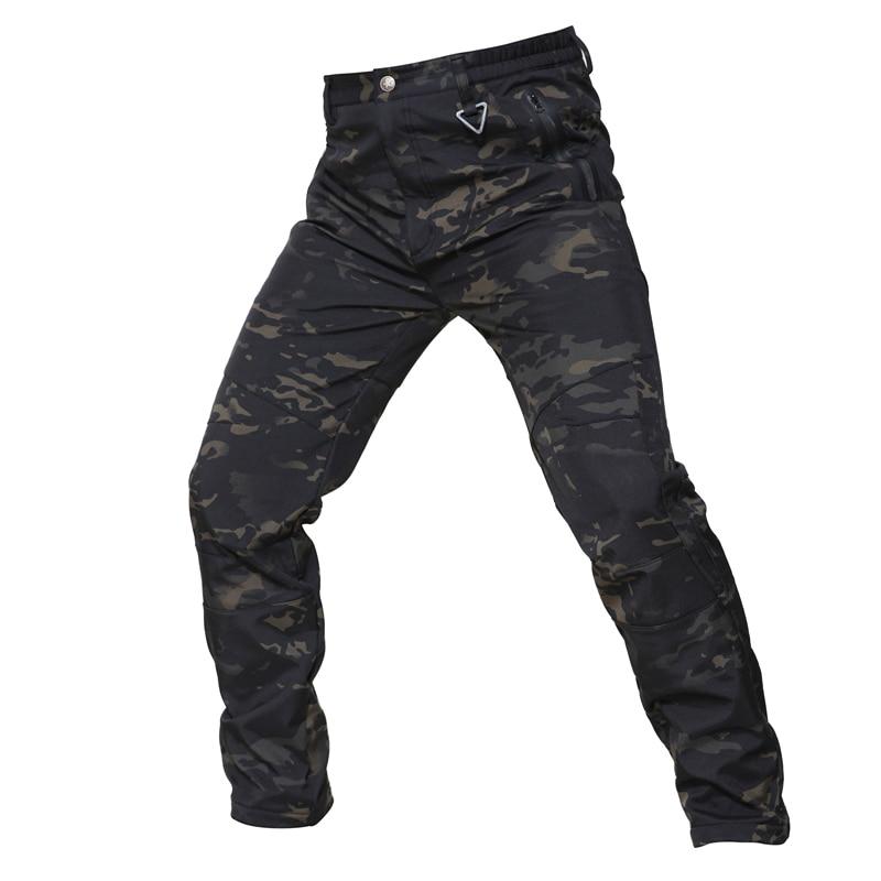 Pantalones cálidos de invierno para hombres Pantalones cargo Vellón - Ropa deportiva y accesorios - foto 4