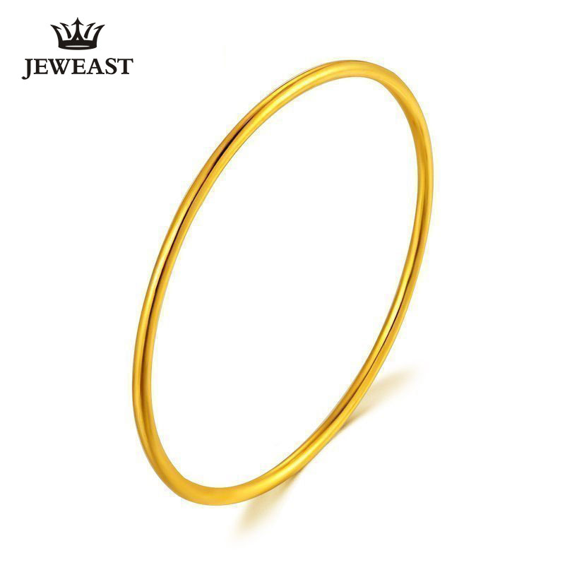 24K Pure Gold Bracelet Real 999 Solid Gold Bangle Simple Fashion Upscale Beautiful Glossy Classic Fine Jewelry Hot Sell New 201824K Pure Gold Bracelet Real 999 Solid Gold Bangle Simple Fashion Upscale Beautiful Glossy Classic Fine Jewelry Hot Sell New 2018