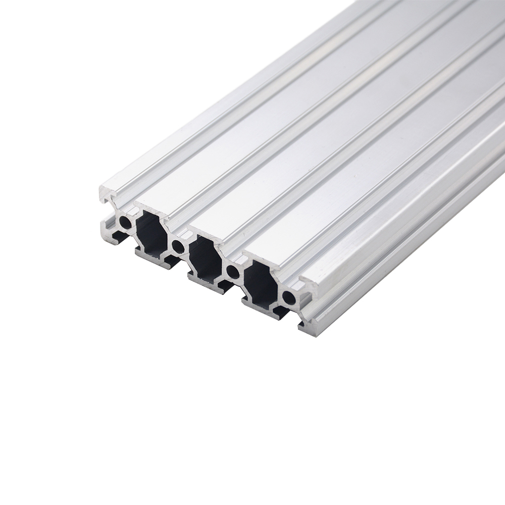 1pc 2080 Aluminum Profile European Standard Anodized 200 300 350 500mm Aluminum Profile 2080 Extrusion 2080 CNC 3D Printer Part
