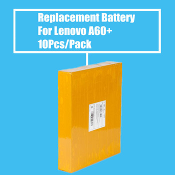 New Arrival 10Pcs/Pack 1500mah Replacement Battery for Lenovo A60+ High Quality