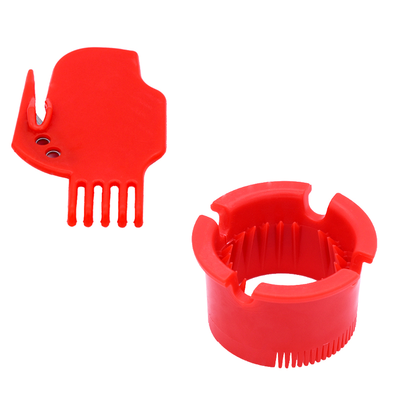 Round Bearing Brush Flat Red Impact Brush IROBOT Roomba 500 600 700 800 900 Series Hair Cleaning Accessories Cleaning Tool