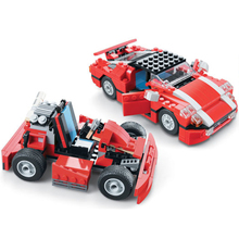 City 23 in 1 Creator Excavator Super Speedster Red Car Building Blocks Bricks Model Kids Toys Marvel Compatible Legoings