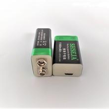9V литиевая li-po литий-ионная аккумуляторная батарея 1180mAh 9V USB Батарея