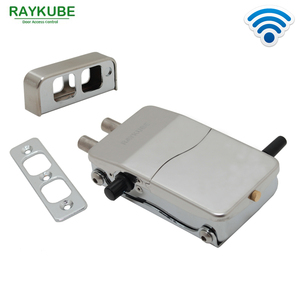 Image 3 - RAYKUBE Access Control Kits Wireless 433MHZ Electric Door Lock Security Door With Password Keypad Remote Control Lockey R W39