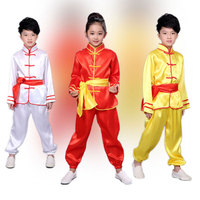 Children Tae Kwon Do Kids Wushu Boy Chinese Traditional Clothing China Kungfu Suit Kung Fu Uniforms