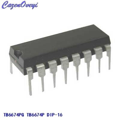 5 pz/lotto TB6674PG TB6674P TB6674 DIP-16 In Magazzino5 pz/lotto TB6674PG TB6674P TB6674 DIP-16 In Magazzino