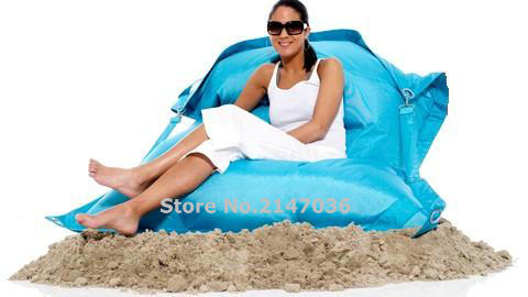 Large Bean Bag Giant indoor / Outdoor Bean Bag XXXL Waterproof Bean Bags Bag Size 56inch x 72inches ,camping portable chair