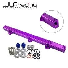 WLR RACING-новая Топливная рейка алюминиевая Топливная рейка для MITSUBISHI LANCER EVO 3 4G63 TURBO 1992-1995 WLE5434P