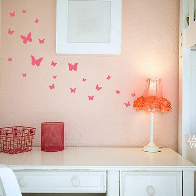 18pcs Butterflies Wall Stickers DIY Interior Home Design ...
