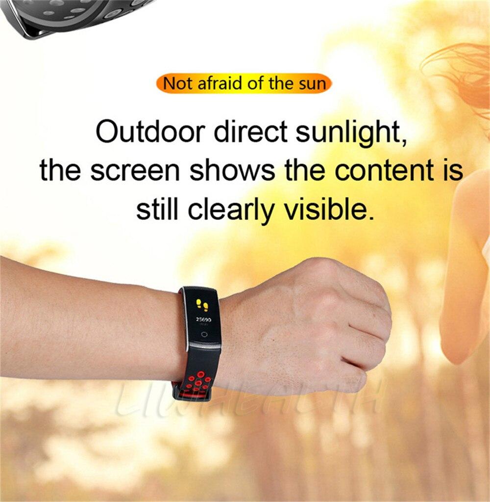 smart watch wristband health fitness clock 1 (3)