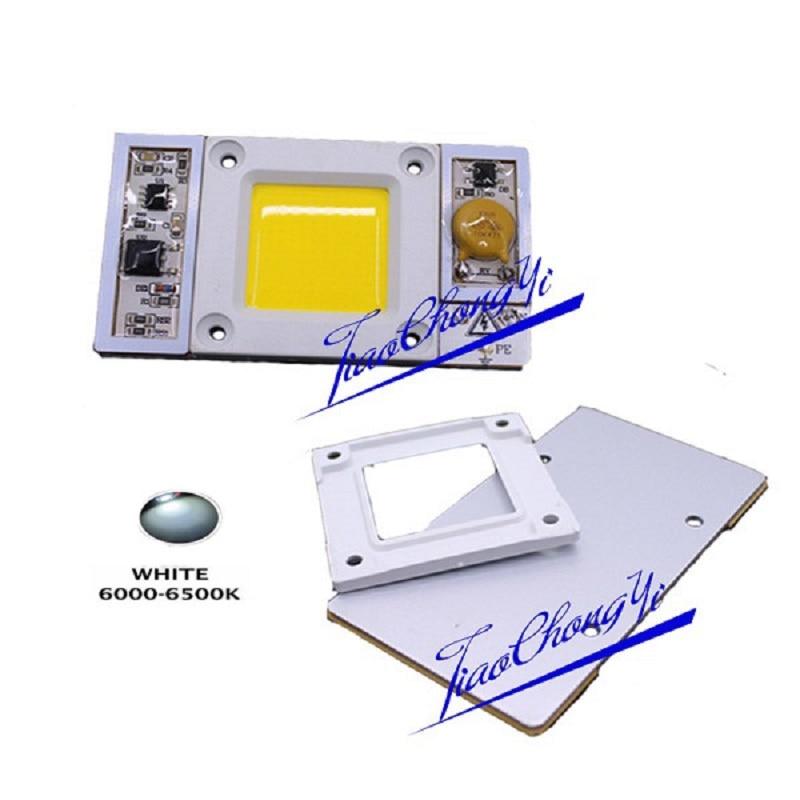 1 шт. AC 220 В 170-300vac высокое Мощность 50 Вт светодиодный чип встроенный в драйвер х ...