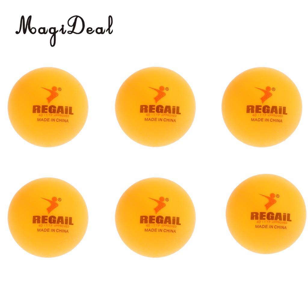 MagiDeal упаковка из 6 Ping P Онг Мячи для настольного тенниса пива P Онг шары