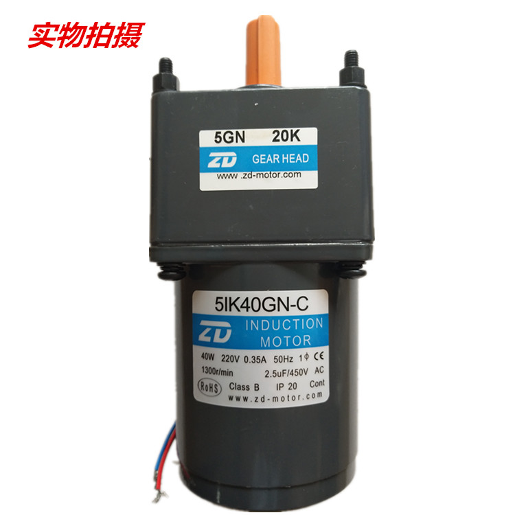 40W 50 HZ 220V AC gear induction motors reduction 25:1 AC motor 5IK40GN-C/5GN 25K насос calpeda mxv 25 218 c 230 400 50 hz m100 v1 3t