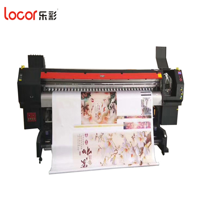 Locor Solvent Printing Machine With Double DX5 Original Head /Vinyl .Graphic Paper PP Printing Printer