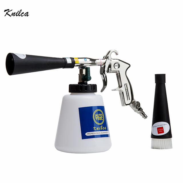 Knilca Black/preto Bearing tornador cleaning gun , high pressure car washer tornador foam gun,car tornado espuma tool