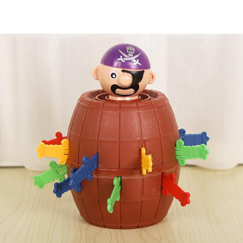 Self-Conscious Children's Halloween Toys Novelty Lucky Stab Pop Up Toy Mangle Funny Pirate Barrel Toys For Family Office Party To Make One Feel At Ease And Energetic