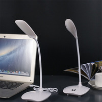 Białe Światło Elastyczna Szyjka Laptop Notebook USB Lampka nocna lampka USB/Ładowania Typu na Studia Czytanie Klawiatury Komputera